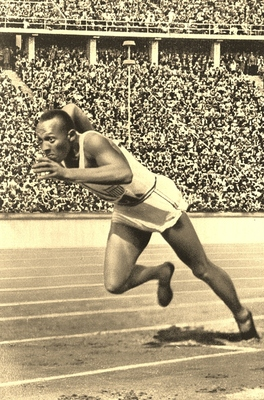 Public Domain Image Jesse owens Compliments National Archives